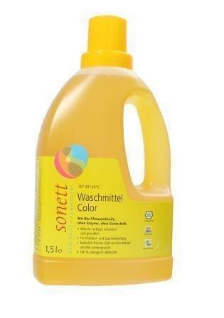 Krāsainai veļai šķidrais mazgāšanas līdzeklis, Sonett