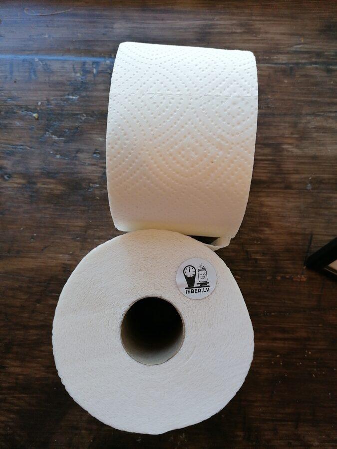 Tualetes papīrs 3 slāņu 1 rullis