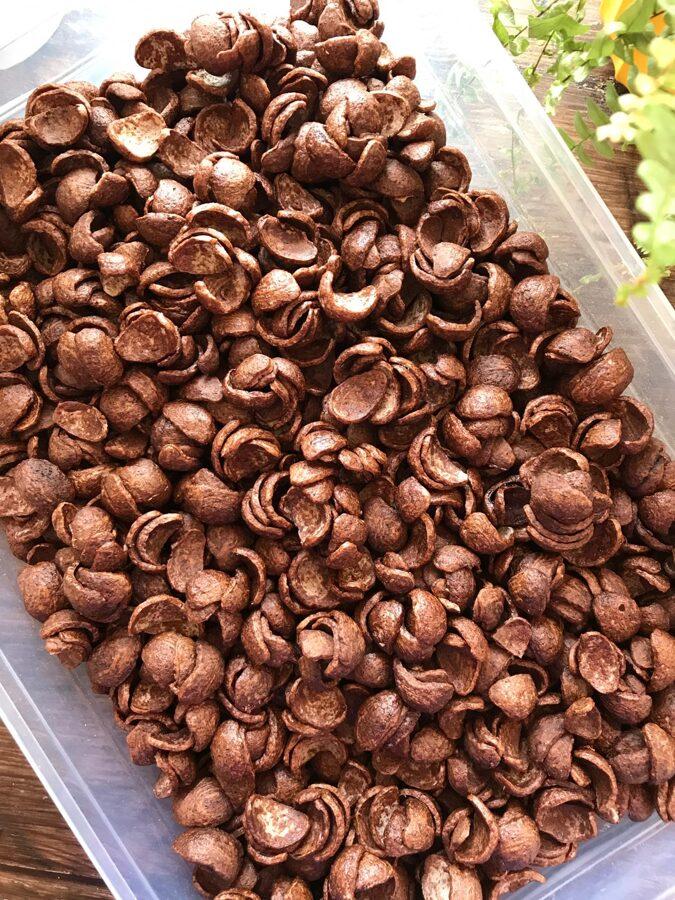 Veggy Crush pelēko zirņu kakao pārslas laiviņas 50g