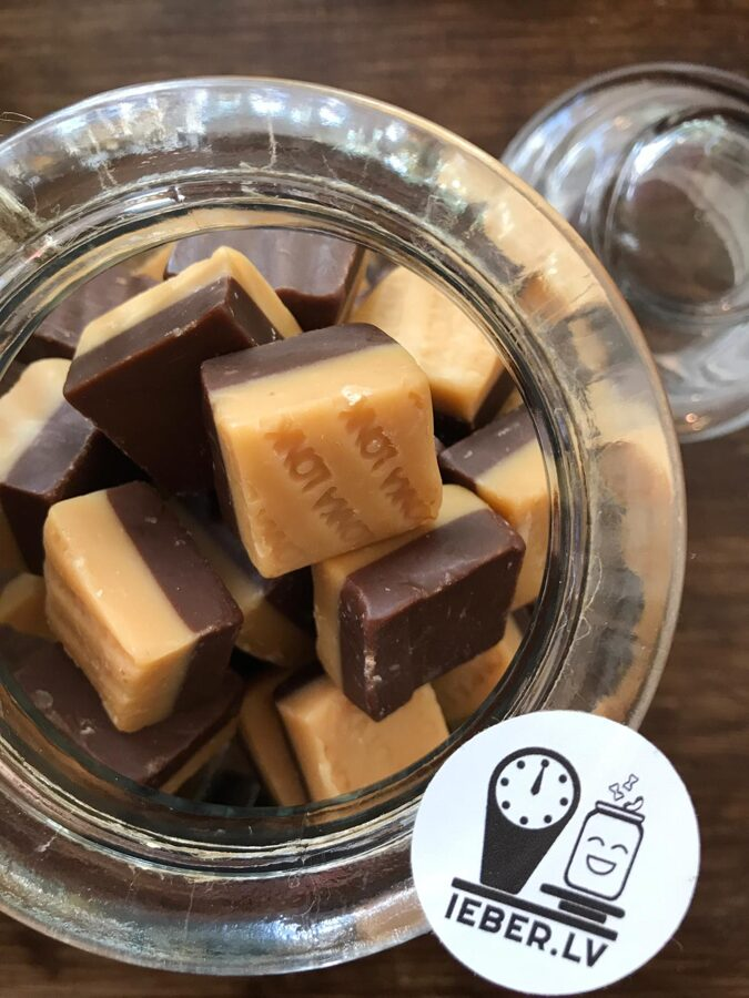 Vaniļas un šokolādes karameles 50g