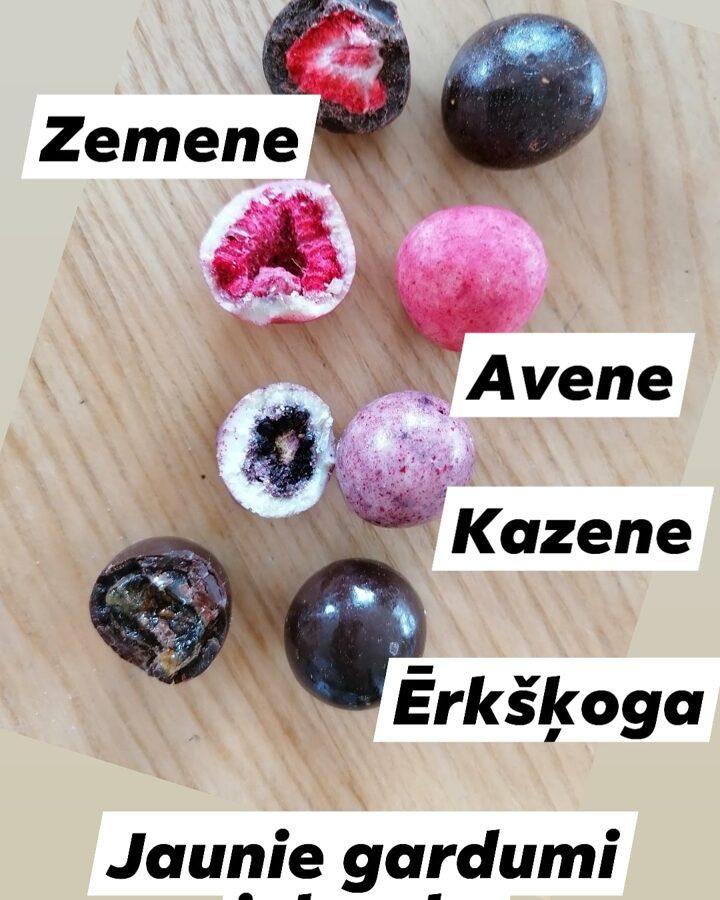 Glazētas zemenes Tumšajā šokolādē 50g