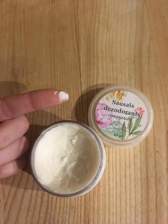 Sausais dezodorants ar citronzāli 1gb