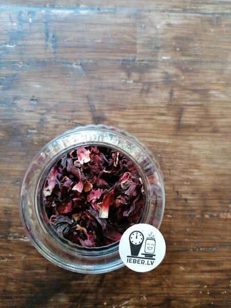 Karkade, hibiskus ziedu tēja 25g