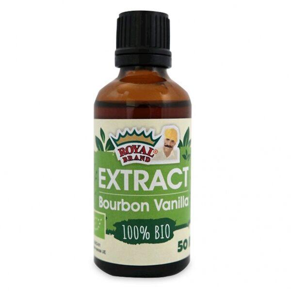 Burbona Vaniļas ekstrakts BIO 50ml, Royal Brand