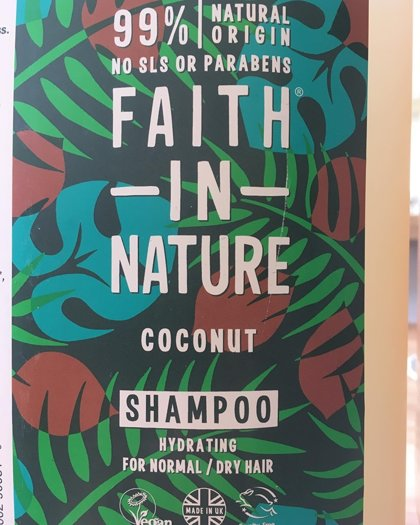 Kokosriekstu šampūns 500g